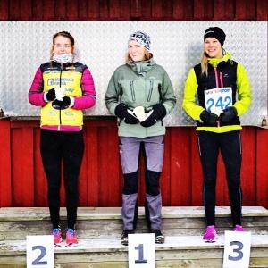På tredje plats i Falktouren