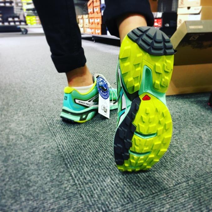 Skor för fjällterräng