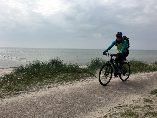Under träningsperioden blev den längsta cykelturen blev på 15 mil.