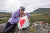 Fjällets vackraste sten finner du norr om Ammarnäs.