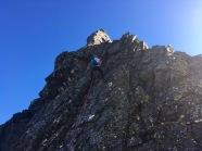 För att genomföra Syltraversen behövdes klätterutrustning.