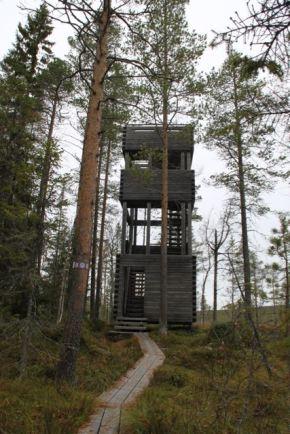 I parken finns ett utkikstorn.