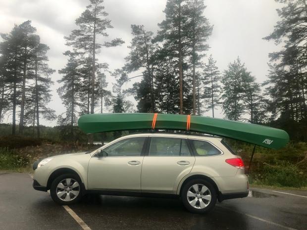 kanot på bild