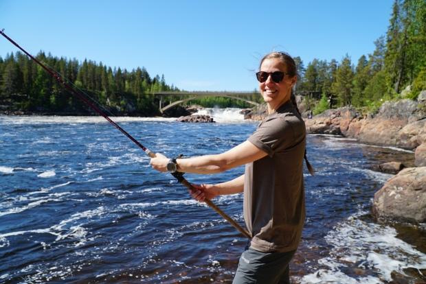 Här har vi spenderat många somrar. I östra viken i Jockfall. Foto: Erika Nilsson-Waara